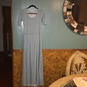 NWOT LuLaRoe Ana maxi dress